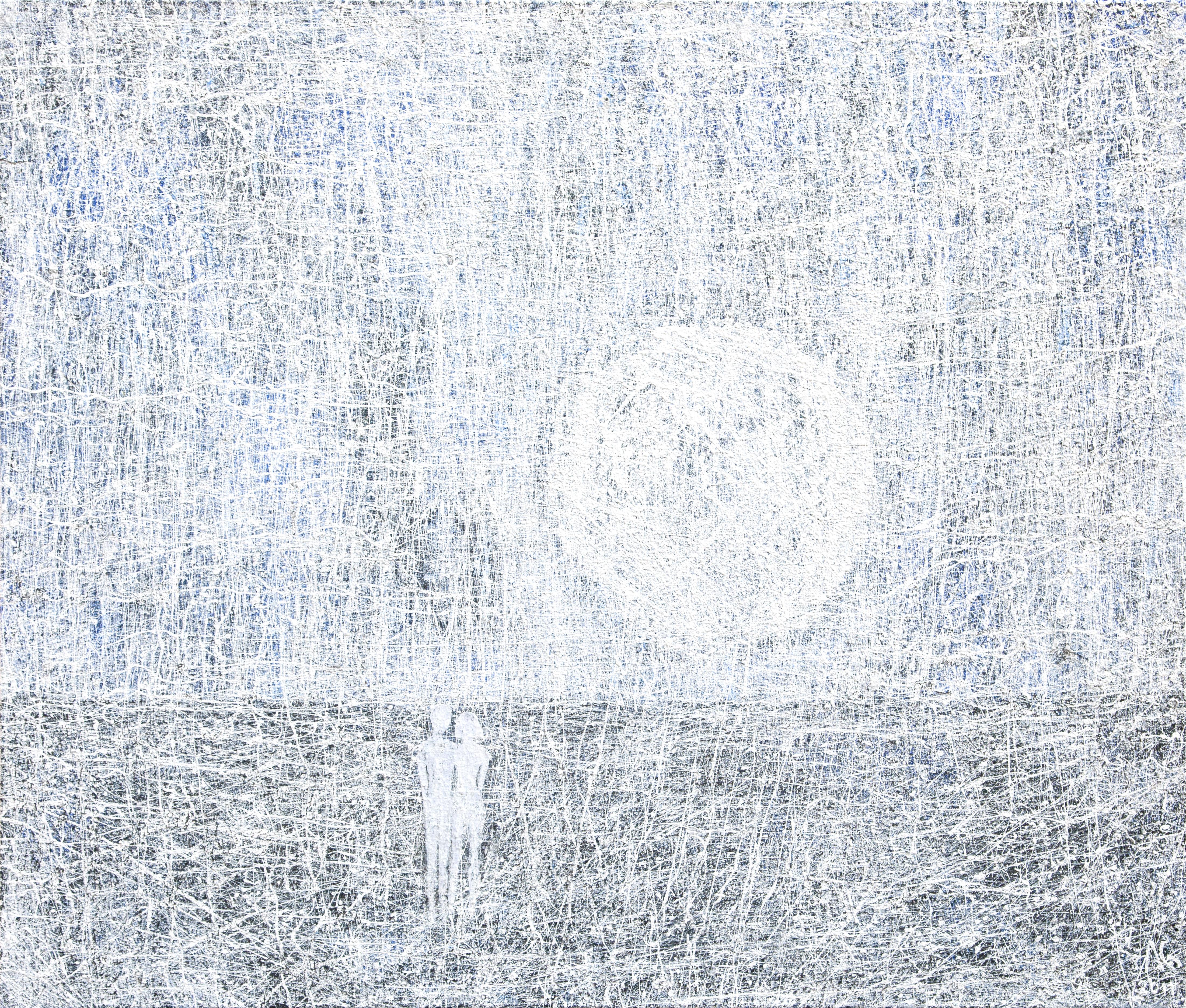 Adam i Eva 2011,100x120 cm.